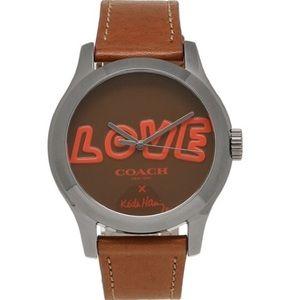 ♥️ Coach Keith Haring LOVE Watch ♥️